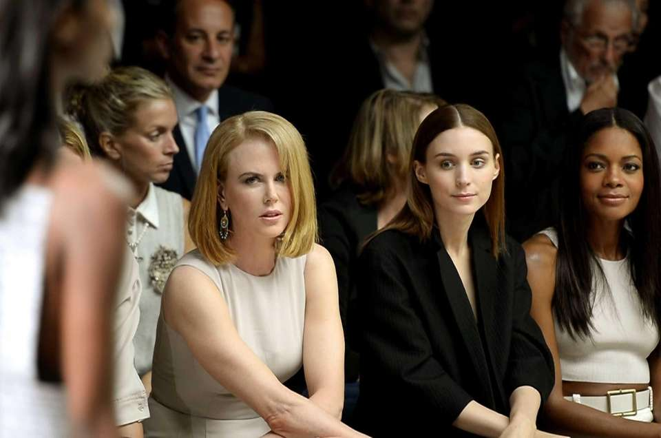Left to right: Actors Nicole Kidman, Rooney Mara