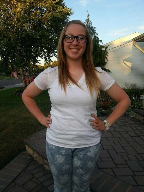 Wantagh teen Jaymee Dietz, a junior at MacArthur