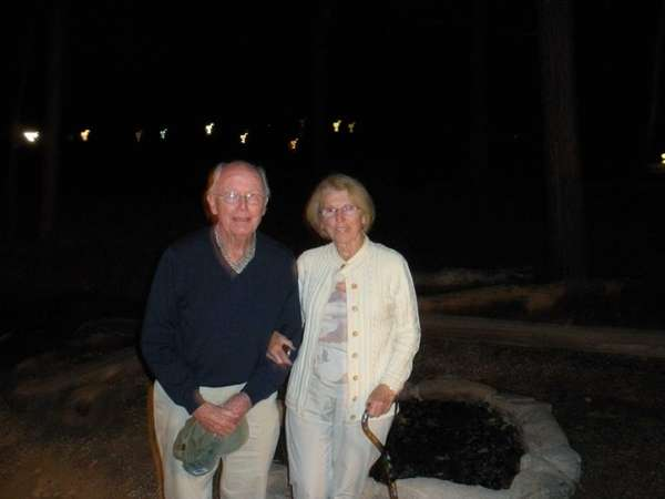 Mary and Jack McCaffery of Bethpage at the