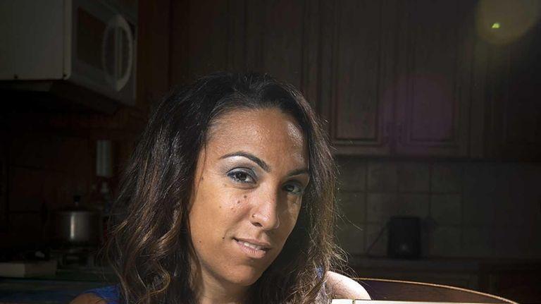 Agatha Bernardo's mother, shown in photo she's holding,