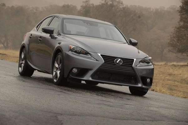 The 2014 Lexus IS shows the brand's attempt