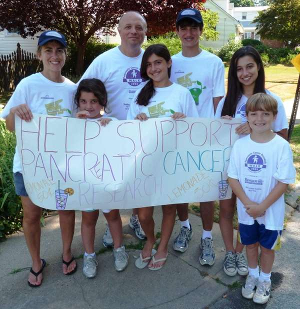 The Di Caro family raised $4,000 after the