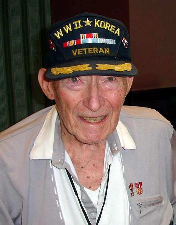 Harold Dinzes, 96, a veteran of both World