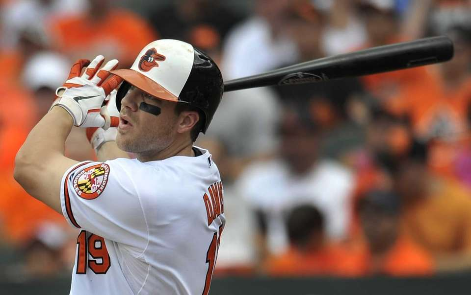 CHRIS DAVIS 2013, Baltimore Orioles 50 home runs