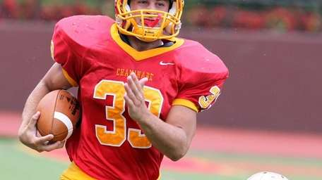 Chaminade's Robert Speranza Jr. takes off downfield for