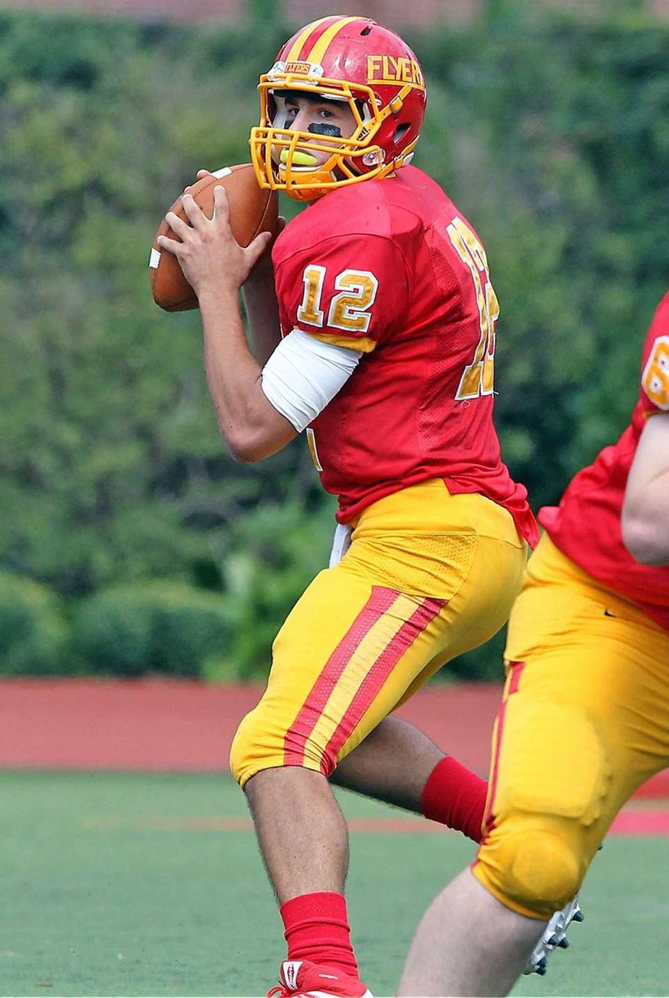 Chaminade's Sean Cerrone looks downfield during his team's