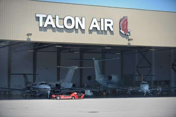 The Talon Air aircraft hanger located at Republic