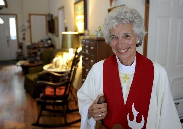 Sag Harbor resdent Eda Lorello, a long-time church