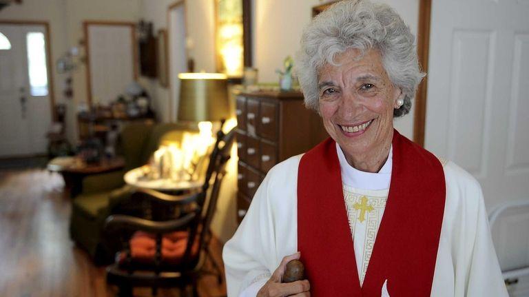 Sag Harbor resdent Eda Lorello, a long-time church