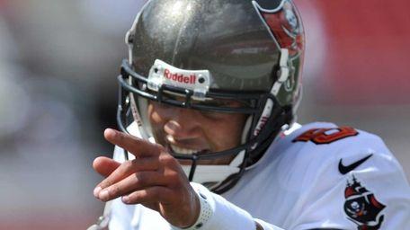 TAMPA, FL - SEPTEMBER 15: Quarterback Josh Freeman