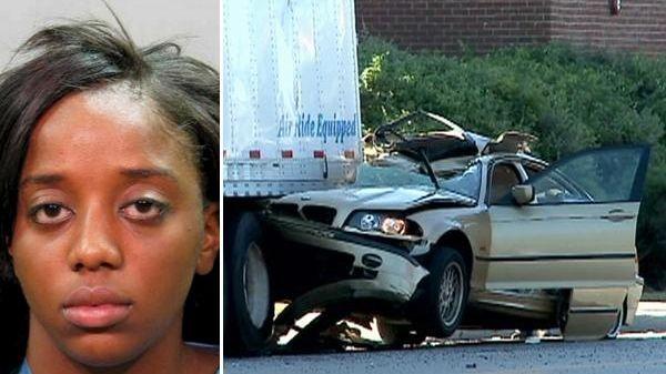Asya Ulmer, left, 21, Rockville Centre, faces charges
