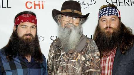 From left, Jep Robertson, Si Robertson and Willie