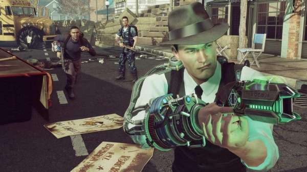 "A screengrab depicts gameplay from ""The Bureau: XCOM"