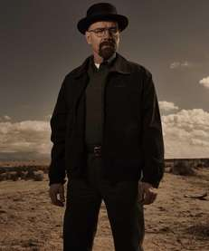 """Breaking Bad"" character Walter White (Bryan Cranston) in,"