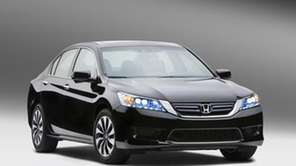 The 2014 Honda Accord Hybrid gets 50 miles