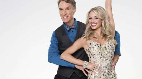 Bill Nye joins first time professional partner Tyne