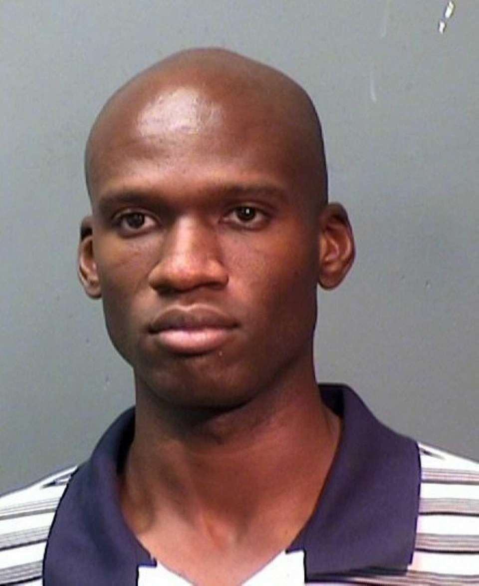 Booking photo of Aaron Alexis, arrested in September