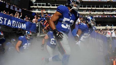 Spencer Paysinger of the New York Giants takes