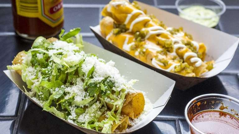 Taquitos, or rolled tacos, are gaining in popularity