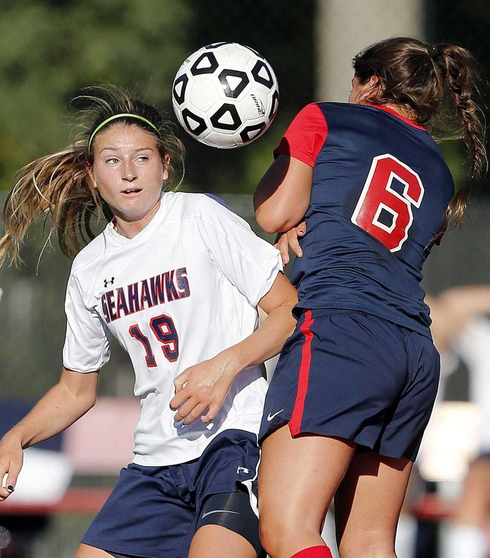 Cold Spring Harbor's Julia Schubauer and South Side's