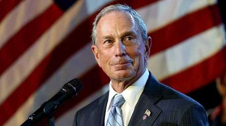 Mayor of New York City Michael Bloomberg during