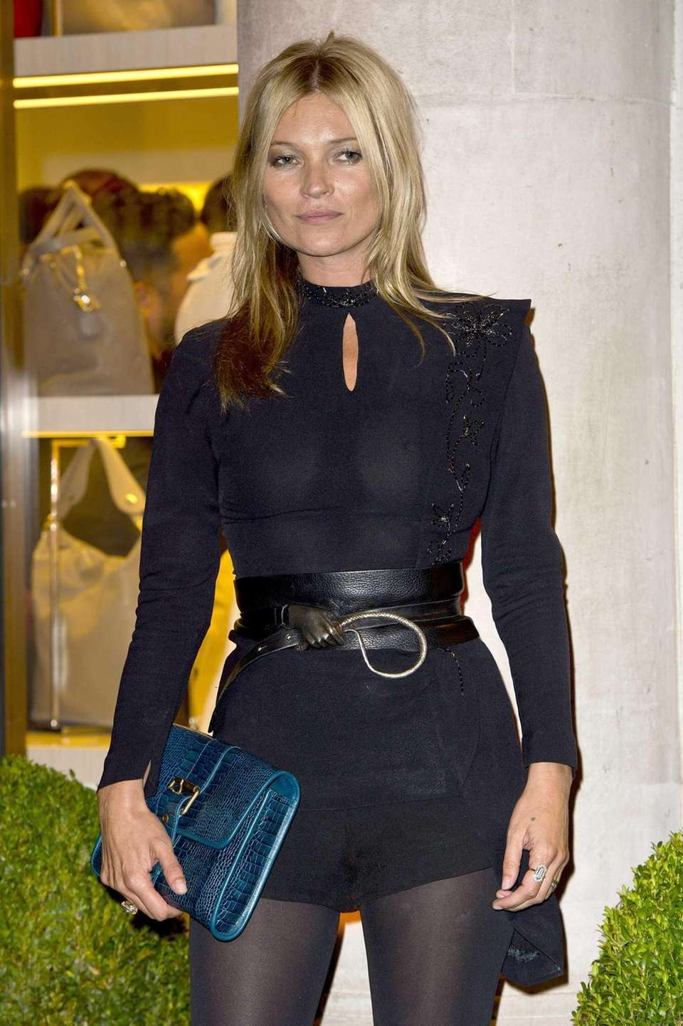 Kate Moss attends the grand opening party of