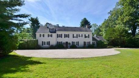 This Syosset manor house, on the market for