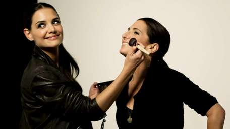Bobbi Brown and Katie Holmes have collaborated on