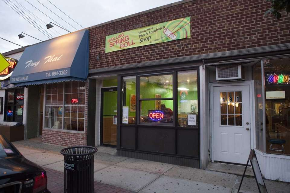 The Rolling Spring Roll, at 189 Main St.