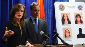Nassau County District Attorney Kathleen Rice and New