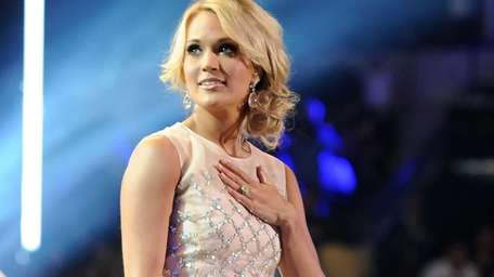 Carrie Underwood at the 2013 CMT Music Awards