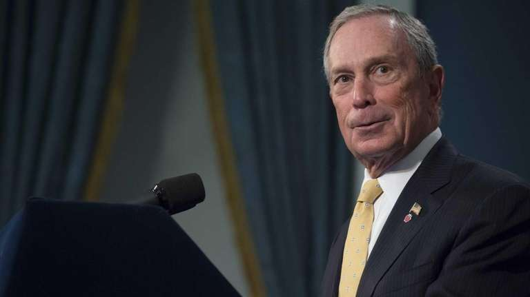 Mayor Bloomberg, co-chair of Mayors Against Illegal Guns,