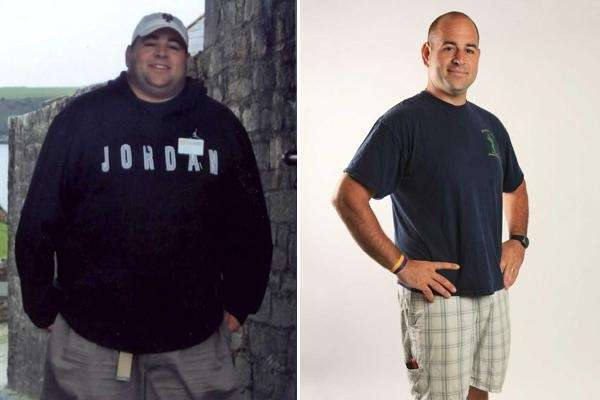David Francis, of East Islip, lost 200 pounds,