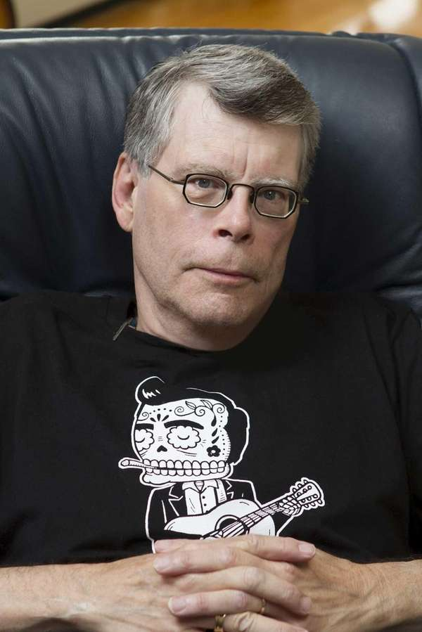 "Stephen King, author of ""Doctor Sleep"" (Scribner, Sept."