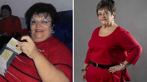 A chronic emotional eater, Janet Bickel, lost just