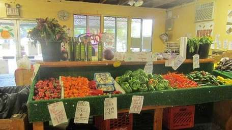 Originally known as Scappy's, the farm stand in