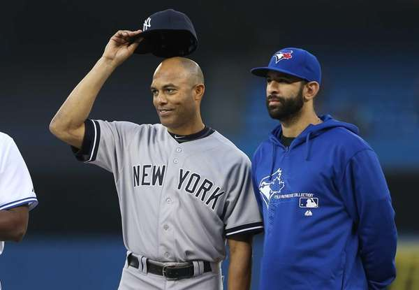 Mariano Rivera is honored for his career accomplishments