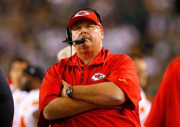 PHILADELPHIA, PA - SEPTEMBER 19: Head coach Andy