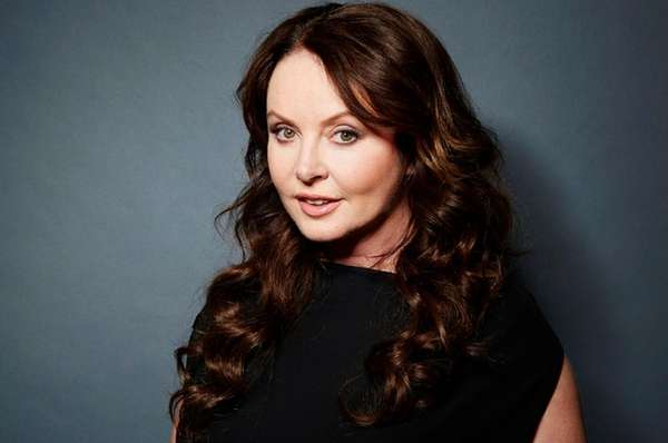 Singer and actress Sarah Brightman in New York.