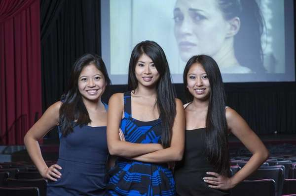 From left, sisters Lelina, Yin and Melora Chang