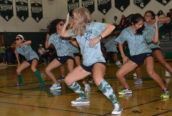 Valley Stream North High School's girls cross country