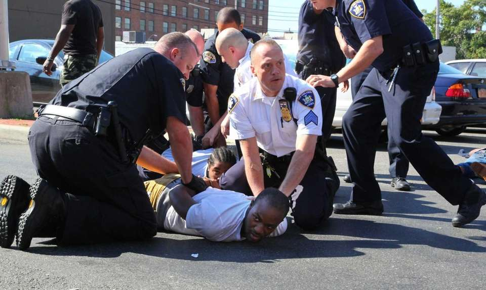 Arrests are made after the arraignment of 20-year-old