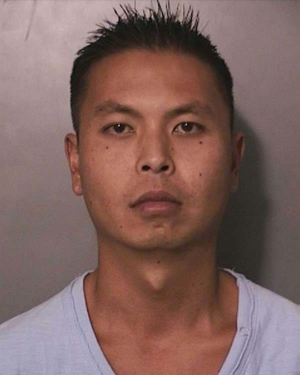 Johnson Chan, 32, of Bellmore, was arrested and