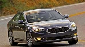 The 2014 Kia Cadenza seems to take on