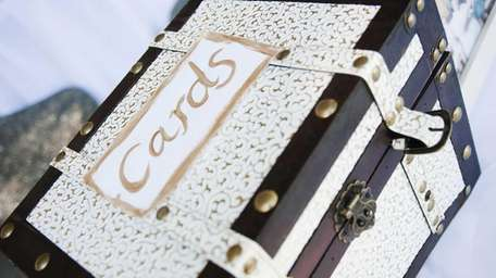 Are card boxes appropriate at a church ceremony?