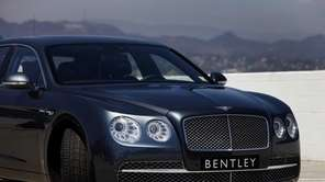 Getting the big 2014 Bentley Flying Spur to