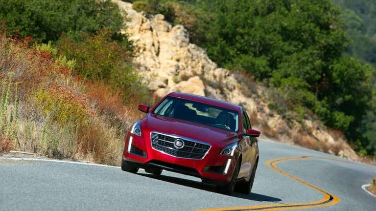 The redesigned Cadillac CTS is a lower, longer,