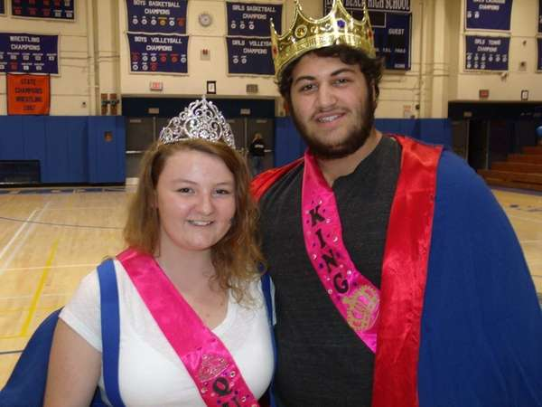 Long Beach High School homecoming queen and king