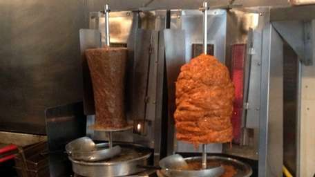 Two kinds of gyro at the new Greek