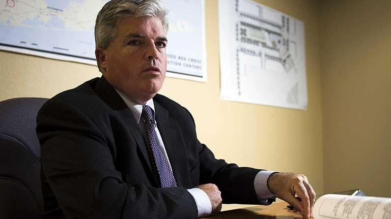 Suffolk County Executive Steve Bellone releases and talks